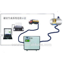 high accuracy smart computer control calibration tank machine
