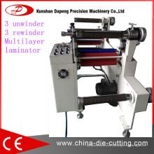 Laminação automática de 650L e máquina de coleta