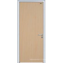 Porte coulissante en verre, porte en acier solide, fabricants de portes en bois massif