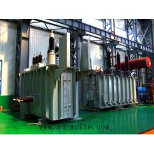 Transformateur de puissance de distribution immergé à huile de 110kv du fabricant