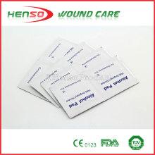 HENSO Estéril 70% Isopropyl descartable Álcool Prep Pad