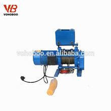 wire rope electric winch hoist 220 volt electric winch