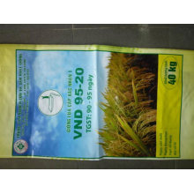 the high Quality Handle colourful printing Flour Sack 10kg