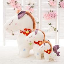 Alta qualidade linda plush horse toys atacado