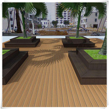 WPC papan decking tahan air