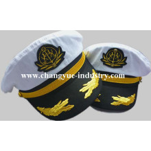 custom cotton fashion captain cap