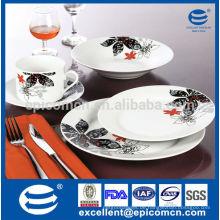 Deutschland klassische Dekoration mit Blatt Geschirr & Gastronomie Porzellangeschirr