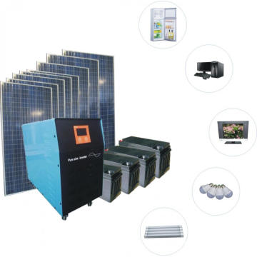 Off-grid solar power 5kw green power Generating System