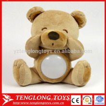 Производитель милый светодиодный плюшевый медвежонок игрушка