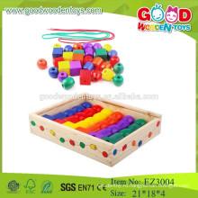 Маленькие образовательные игрушки Цветные интеллектуальные бисера Diy Bead для детей
