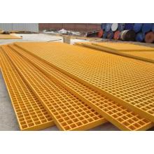 Reja de FRP / GRP, reja de Pultrued de la fibra de vidrio, perfiles de Pultruded, alto Anti-Fire