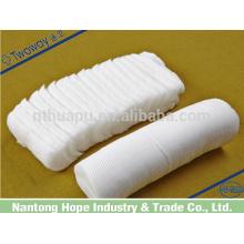 Tampon médical en coton pré-découpé en coton zigzag