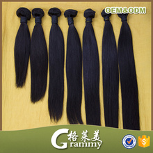 Alibaba no shedding no tangle straight raw unprocessed wholesale aliexpress hair extensions brazilian human
