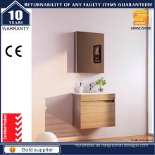 Wandmontiertes MDF Melamin Badezimmer Waschtischschrank mit CE Zertifikat
