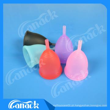 Copos Menstrual reutilizáveis médicos do silicone