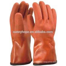 Sunnyhope inverno pvc revestido luvas luvas de tempo frio trabalho
