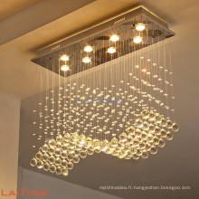 Guzhen ville décoration dinning pendentif lumière moderne cristal éclairage 92014