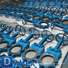 Didtek Trade Assurance Distribuidor Electric Knife Gate Valve