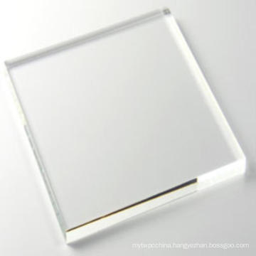 Fireproof transparent polycarbonate panel wall panel