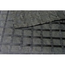 Komposit Asfalt Interlayer Fiberglass Geogrid Composites