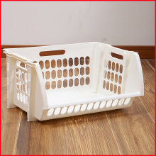Plastic Single Stacking Storage Basket