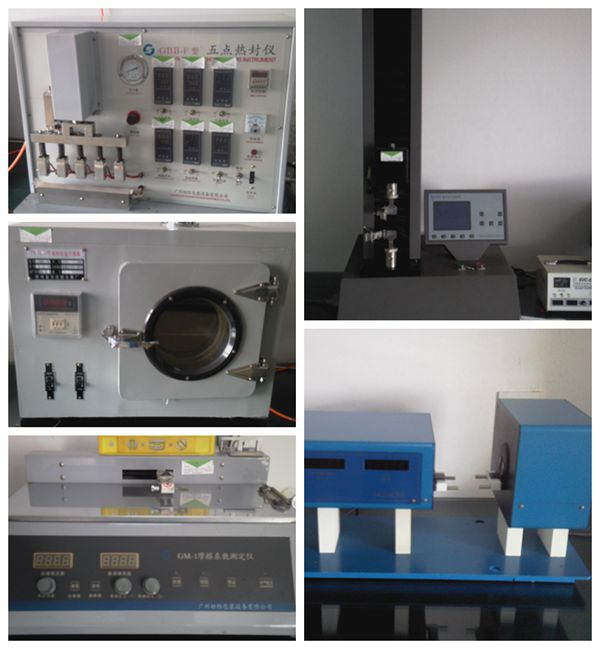 test equipment of Clear Polyester Sheet 0.25mm