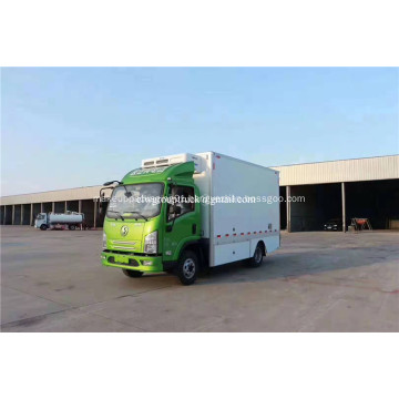 Shaanxi auto pure electric refrigerated vehicle