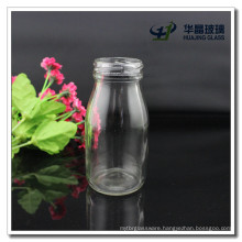 Hj184 180ml Glass Milk Bottle