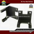 CNC Aluminum Bracket with Finished Anodized Black