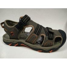 Männer Gummi Schuhe Casual Leder Sandalen