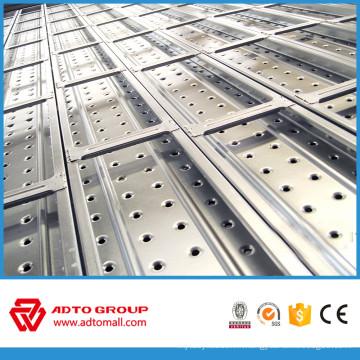 Pave en métal perforé prix usine avec des crochets fabriqués en Chine en Afrique