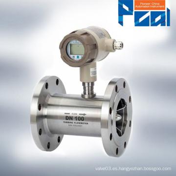 LWGY Tipo de medidor de flujo de la turbina líquida fábrica