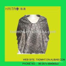 Châle de mode grise