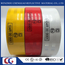 ECE 104 R Adhesive Truck Reflective Tape /Film with Same Quality as 3m for Car/Vehicle/Trailers