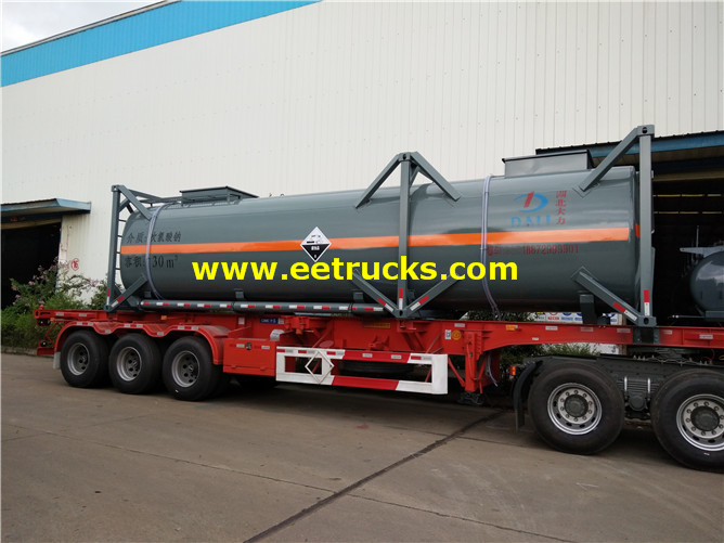 30feet Sodium Hypochlorite Tanker Containers