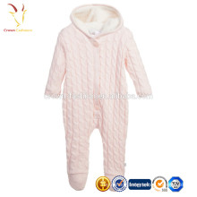Baby Girls Cable Cashmere Layette Cashmere Overall