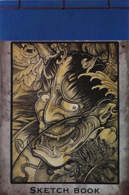 Tatuagem desenho livro Supply - águia negra