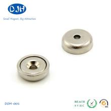 Kleiner gesinterter Neodimio Cup Magnet für Verpackung
