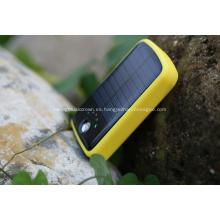 Banco de energía solar 20000mAh para cargador de teléfonos