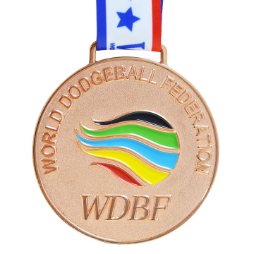Customer Design Metal Medal with Different Plating