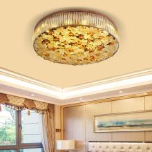 Candelabro de vidro decorativo de aço inoxidável para interior