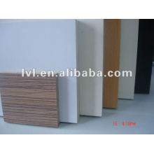 different colors melamine faced mdf for furniture usage