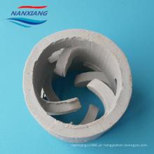 anel cerâmico industrial de 38mm pall na coluna de destilação fracionária