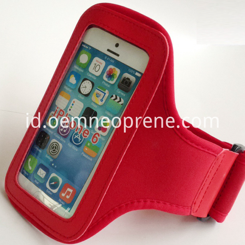 Red sport armbands