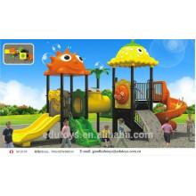 B10195 Neues Design Outdoor Plastik Spielplatz Kinder Spielplatz