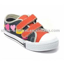 parche zapato de lona para niñas