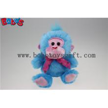 Рекламные продукты Мягкая синяя обезьяна Фаршированная игрушка животных