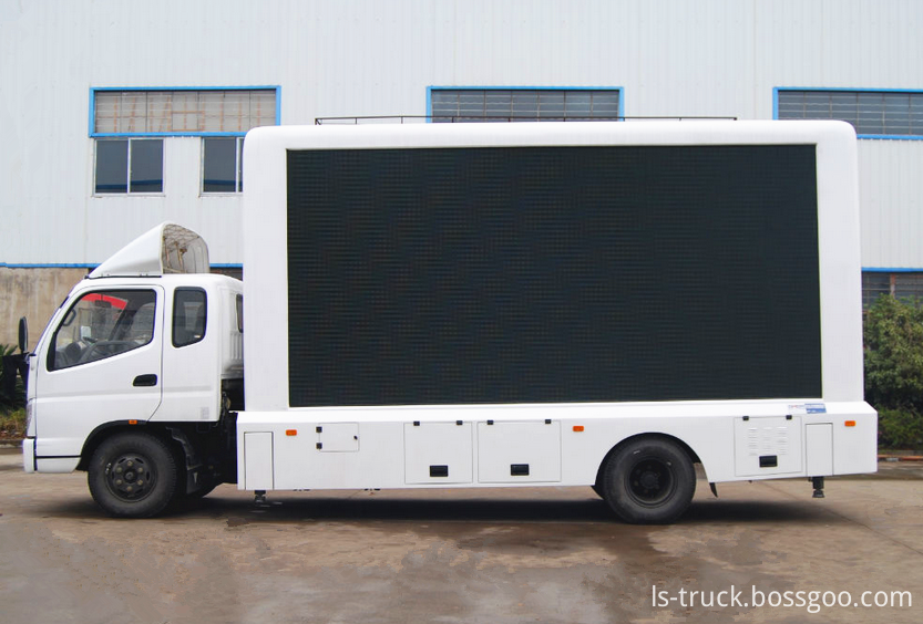 LED advertising truck