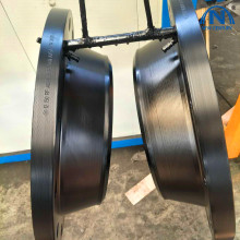 Hot forging products of flange