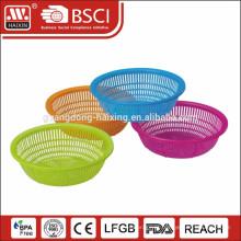 Peneira de vegetais de cozinha / peneira de plástico